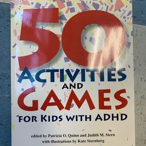50 activities for kids with ADHD-book-new!